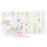 Lemoncraft: Baby Boom Elements for Fussy Cutting 6x12 -paperilehtiö