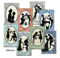 Decorer: Silhouette - minipaperisetti