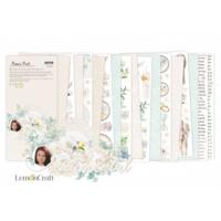Lemoncraft: Sentimental Elements for Fussy Cutting 6x12 -paperilehtiö
