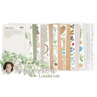 Lemoncraft: Tomorrow Elements for Fussy Cutting 6x12 -paperilehtiö