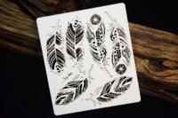 SnipArt: Mandalas Dreams - Openwork Feathers  - leikekuviopakkaus