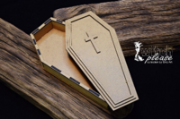 SnipArt: Witch Please - Coffin 3D HDF
