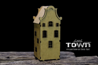 Snipart: Little Town - Tenement House #19 MDF