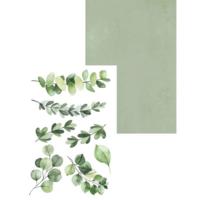 P13 : Creative Pad - Leaves A6 - paperikokoelma