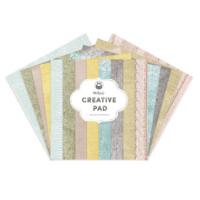 P13: Creative Pad - Fabric 12x12 - paperikokoelma