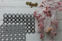 Agiart: Double Maroccan Pattern -stanssi