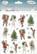 JK Primeco: Vintagehahmot joulu - tarrapakkaus