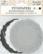 JK Primeco: Kakkupaperi mustavalkoinen lajitelma 9 cm