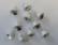 Kellot ( Liberty Bell)  - valkoinen 15 mm/ 10 kpl