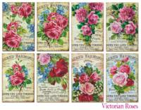 Decorer: Victorian Roses - minipaperisetti