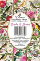 Decorer: Birds & Roses - minipaperisetti