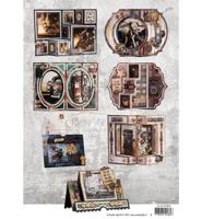 Studio Light: Project Book Card Shapes Industrial Essentials   - kortintekokirja