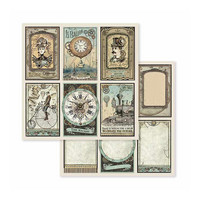 Stamperia: Voyages Fantastiques 8x8 - paperikokoelma