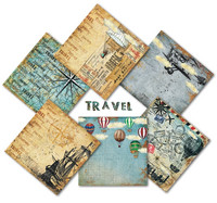 Decorer: Travel 8x8 - paperikokoelma