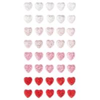 DP Craft Adhesive Stones: Hearts