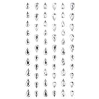 DP Craft Adhesive Stones: Drops
