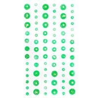 DP Craft Amber Adhesive Stones  :  Green