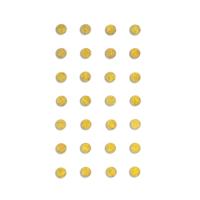 DP Craft Adhesive Stones 8 mm :  Gold