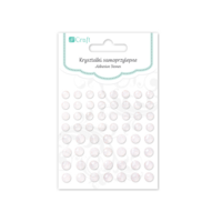 DP Craft Adhesive Glitter Stones: Chrystal