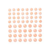 DP Craft Adhesive Glitter Stones :  Cream