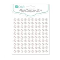 DP Craft Adhesive Pearls : Ivory 8mm
