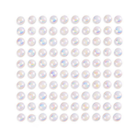 DP Craft Adhesive Pearls : Opalescent White 8mm