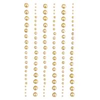 DP Craft Adhesive Pearls : Mixed Gold