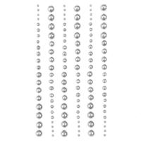 DP Craft Adhesive Pearls : Mixed Silver