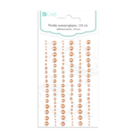 DP Craft Adhesive Pearls : Mixed Copper