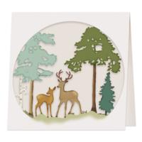 DP Craft Cutting Die: Forest Landscape - stanssi