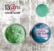 13arts Color Glow Metallic Watercolor : Turquoise 10g - jauhevesiväri