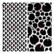 13arts: Wood Pattern 6 x 6 -sabluuna