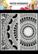 Dutch Doobadoo: Slimline Mandala  21x21 cm -sabluuna