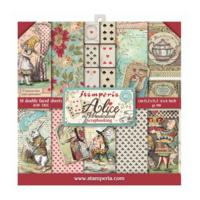 Stamperia: Alice 6x6 -paperikokoelma