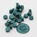 DIY & Cie Wax Beads: Petrol 35 g - sinettivahahelmet