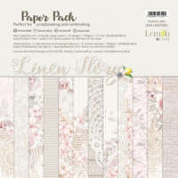 Lemoncraft: Linen Story 12x12 - paperikokoelma