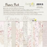 Lemoncraft: Linen Story 6x6 -paperilehtiö