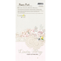 Lemoncraft: Linen Story Elements for Fussy Cutting 6x12 -paperilehtiö