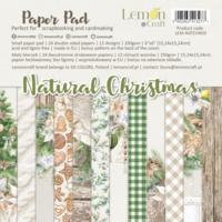 Lemoncraft: Natural Christmas 6x6 -paperilehtiö