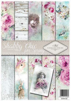 ITD Collection: Shabby Chic for Spring A4- paperikokoelma