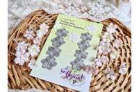 Agiart: Anemone (Vuokko)  Flowers Small -stanssisetti