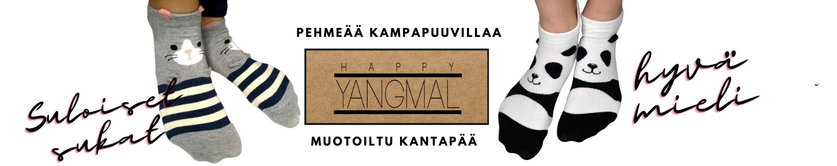 Happy Yangmal - iloisia sukkia iloisille ihmisille.