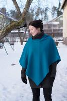 Talventähti -Poncho