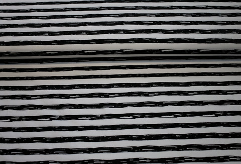 Painted stripes, black
