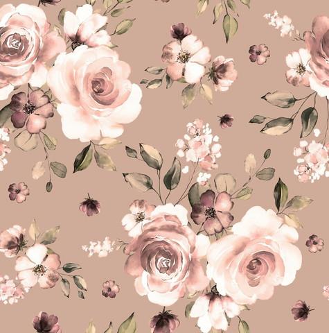 Boho flowers, pähkinä, joustocollege