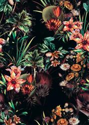 Tropical flowers, trikoo