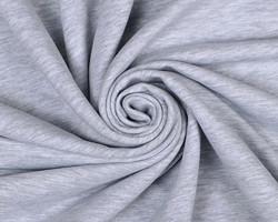 Trikoo, meleerattu vaalea harmaa *Käyttöleveys n. 180 cm*