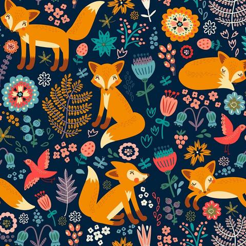 Sweet foxes, trikoo
