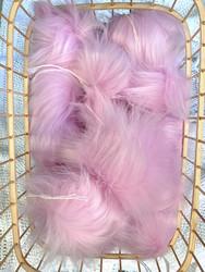 Muhkea keinokarvatupsu 10 cm, soft pink