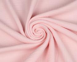 Double gauze/harsokangas, vaaleanpunainen